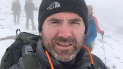 Séamus Lawless died shortly after climbing Everest.