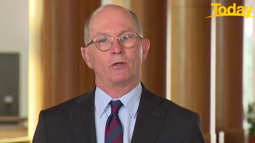 Chief Medical officer Professor Paul Kelly