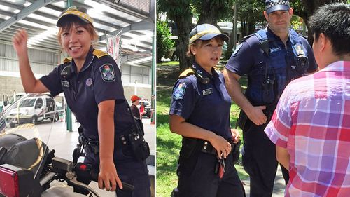 Meet the Japanese police liaison officer making waves in sunny Cairns