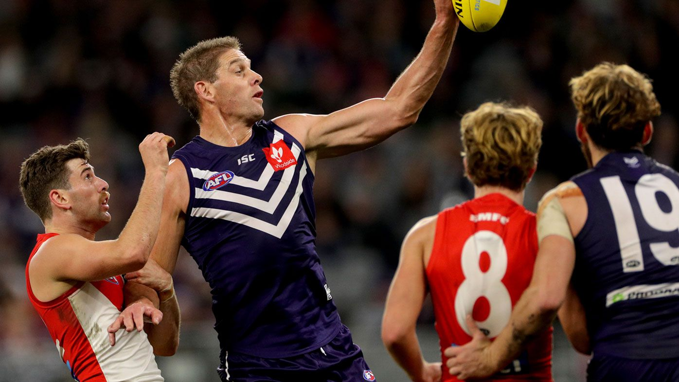 AFL: Fremantle veteran Aaron Sandilands announces retirement