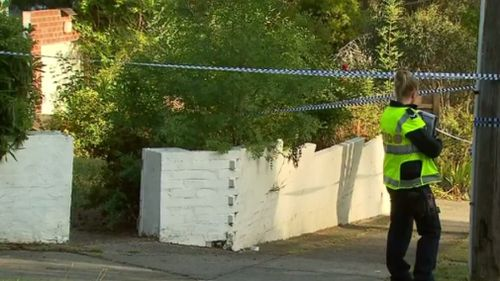 """Police said the man had been dead for """"some time"""". (9NEWS)"""