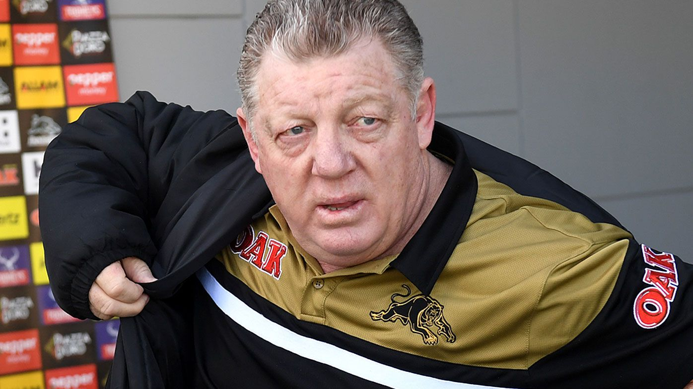 Phil Gould denies Penrith Panthers seeking out Trent Barrett after Manly exit reports