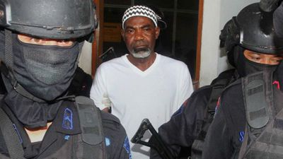 Martin Anderson, 50, Nigeria. Possession of heroin. Police arrested Anderson in Jakarta in 2003 after being caught with 1.8 ounces of heroin. Police alleged the Nigerian, who has previously been incorrectly identified as being from Ghana, was part of a drug ring. He was sentenced to death in 2004. (Nigerian News)