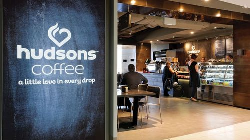 Emirates Leisure retail operates dozens of Hudsons Coffee shops in Australian airports and hospital sites.