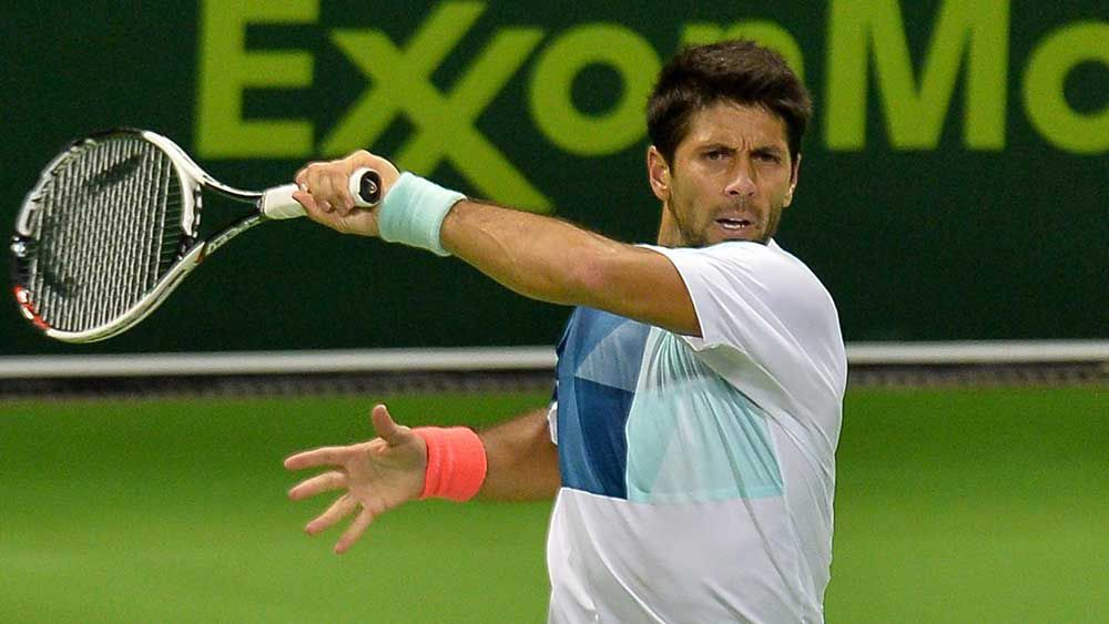 Fernando Verdasco (pictured) has been drawn to play Novak Djokovic. (AAP)