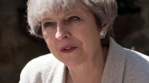 Incumbent Prime Minister Theresa May. (AAP)