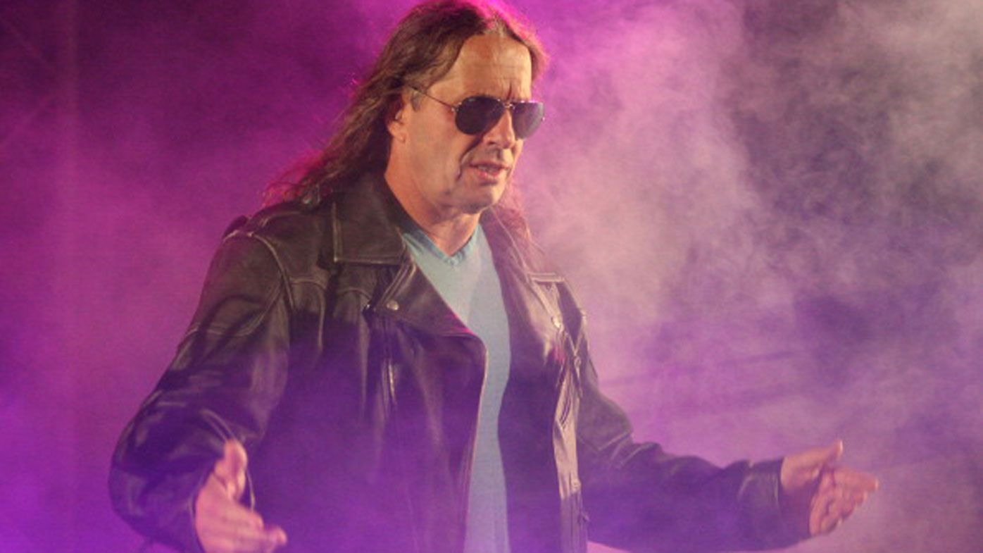 WWE legend Bret 'The Hitman' Hart crash tackled during Hall of Fame speech