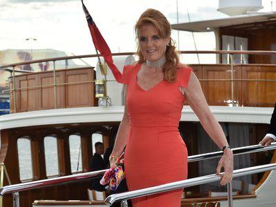 Sarah, Duchess of York, 2015