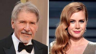 Harrison Ford and Amy Adams