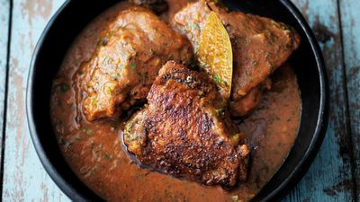 "Recipe: <a href=""http://kitchen.nine.com.au/2017/07/17/13/59/30-minute-fenugreek-chicken-curry"" target=""_top"">Fenugreek chicken curry</a>"