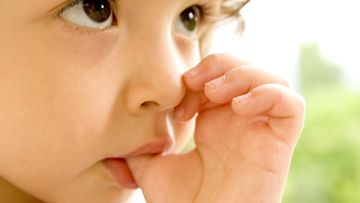 A child sucks their thumb. (AAP file image)