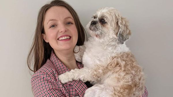 Kate Leaver and her dog Bertie