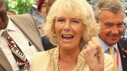 Rock 'n' roll royals: Duchess Camilla gets a tatt, Prince Charles hits the dance floor