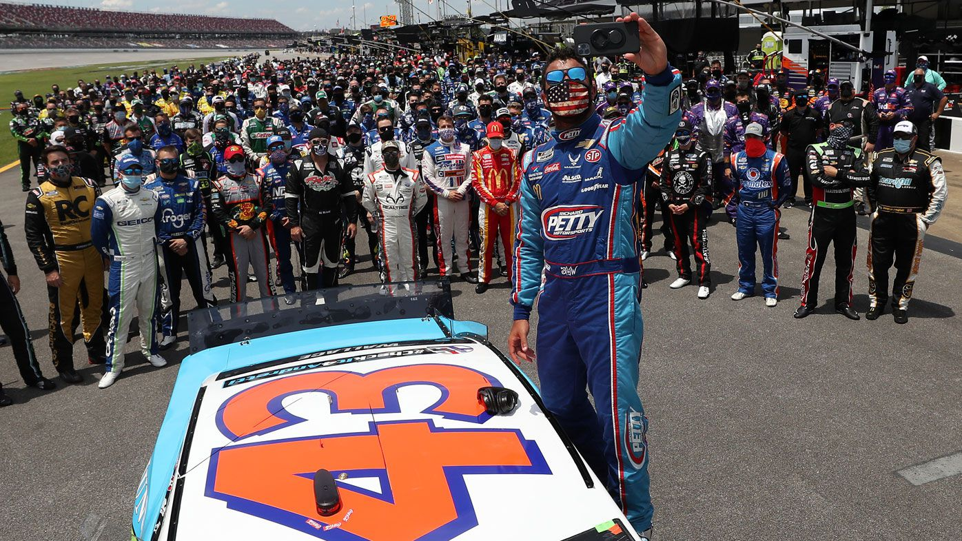 NASCAR's extraordinary gesture for black driver Bubba Wallace after noose threat