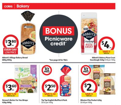 At Coles this week you'll find some great choices for sandwiches and wraps.