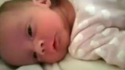 Vic baby girl bleeding, limp before death