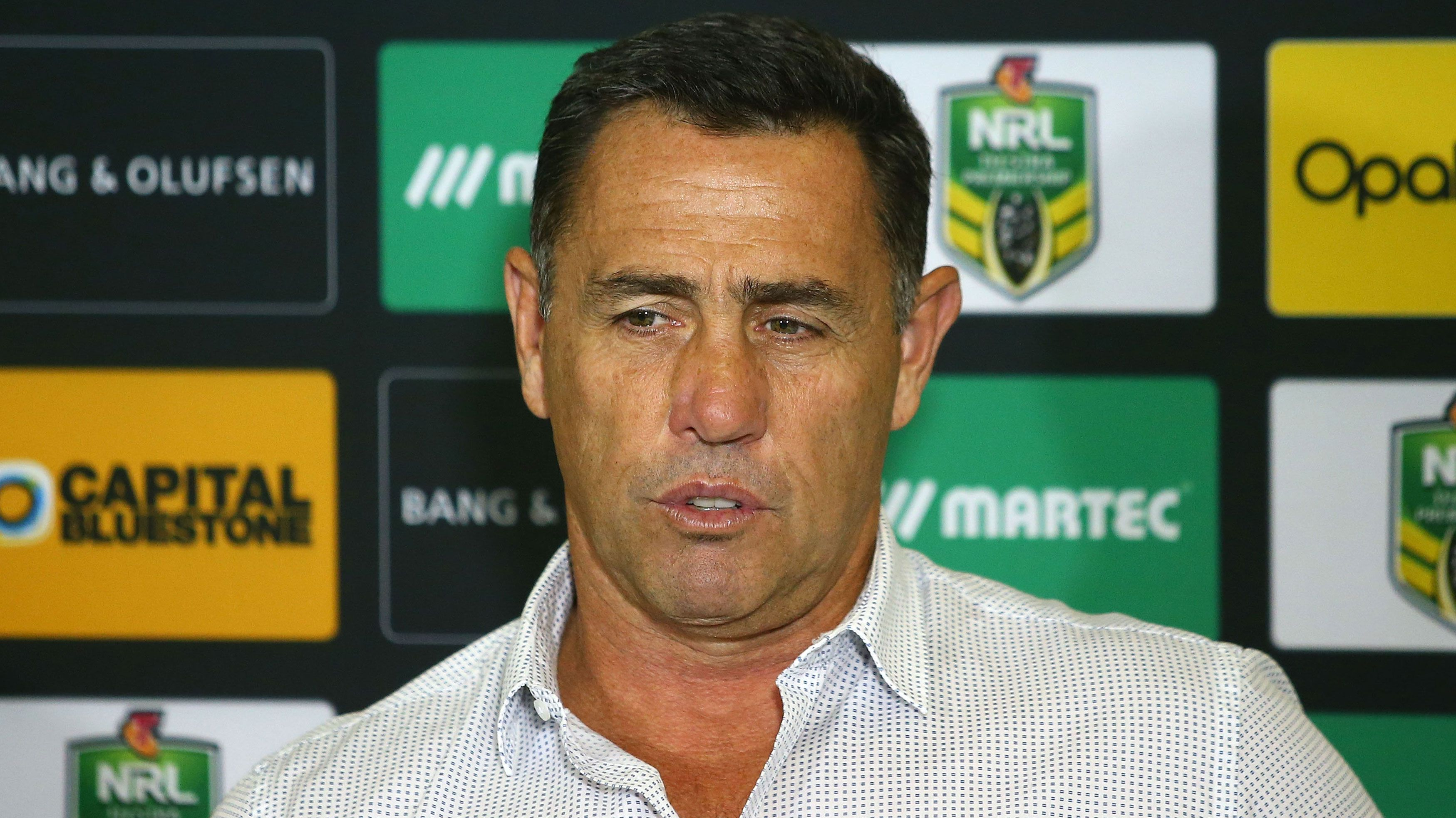 Banned former Sharks coach Shane Flanagan won't be cleared by NRL in 2020