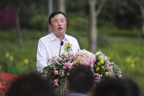 Huawei chief Ren Zhengfei.