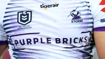 An unnamed Melbourne Storm player has reportedly been found unconscious on a Richmond doorstep.