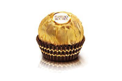 Ferrero Rocher: About a teaspoon of sugar