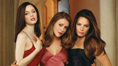Alyssa Milano, Shannen Doherty, Holly Marie Combs, Rose McGowan, Charmed
