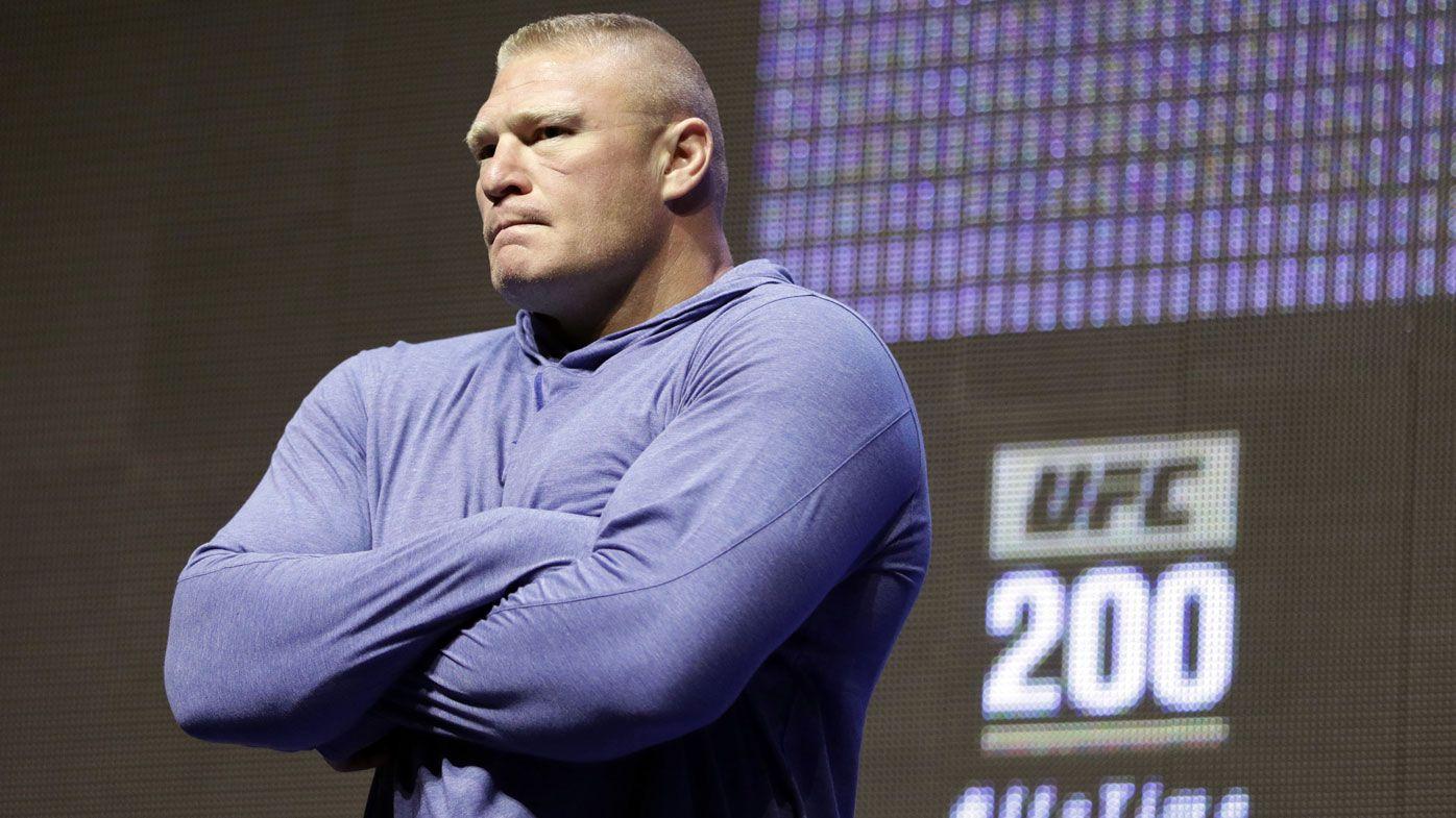 Brock Lesnar (AAP)