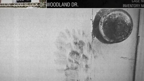 The bootprint found by investigators. (ABC News)