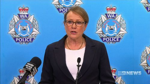 "A visibly disturbed Superintendent Sharon Leonhardt from the WA Police's Sex Crimes Division told reporters that ""it never ceases to amaze me what human beings do to one another - particularly when parents are involved"". (9NEWS)"