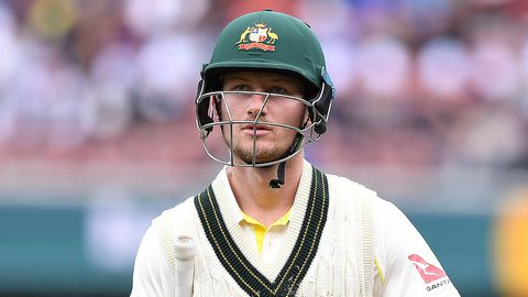 Cameron Bancroft after a run out