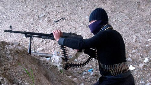 ISIL forces control about a third of Iraq and Syria.