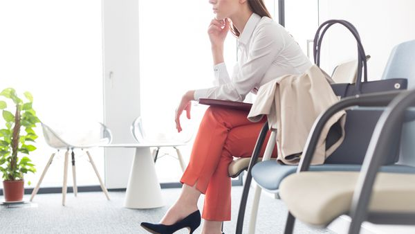 Mind the gap: Many women avoid discussing their parenting pause in interviews with potential employers. Image: Getty