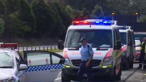 Two young men have been taken to hospital while travelling to the Listen Out music festival in Sydney. (9NEWS)