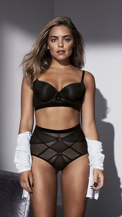 5d67e5b2a8 Neigbours actress Olympia Valance in the Nancy Ganz campaign. Image  Nancy  Ganz.
