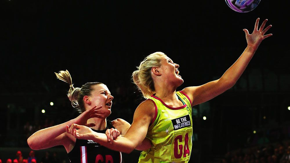 Gretel Tippett in action for the Diamonds. (Getty)