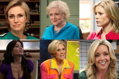 Jane Lynch, <i>Glee</i><br/><br/>Betty White, <i>Hot In Cleveland</i><br/><br/>Julie Bowen, <i>Modern Family</i><br/><br/>Sofia Vergara, <i>Modern Family</i><br/><br/>Kristen Wiig, <i>Saturday Night Live</i><br/><br/>Jane Krakowski, <i>30 Rock</i>