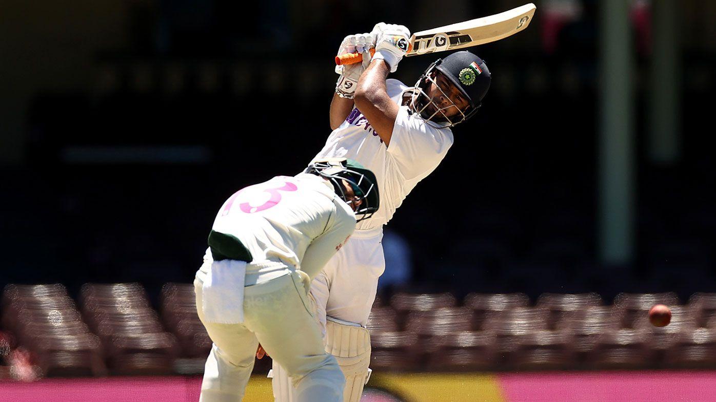 Rishabh Pant smacks a quick-fire 97.