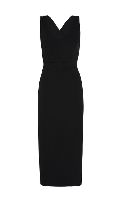 "<a href=""https://www.sassandbide.com/us/products/atomic-twist-black"" target=""_blank"">Dress, $742 approx, Sass & Bide</a>"