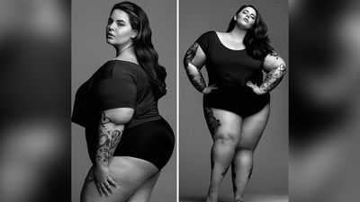 She has been named by Vogue Italia as one of the top six plus size models in the world. (Instagram)