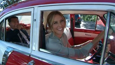 Karl and Ally farewell a classic Holden