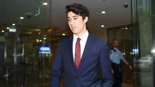 Jarrod Morton-Hoffman is the first hostage to give evidence at the inquest. (AAP)