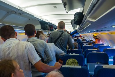 9.People Rushing to Get off Plane as Soon as it Gets to the Gate - 15%