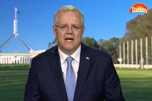 Scott Morrison isn't surprised by the latest voter poll. The Prime Minister appeared on TODAY this morning and said 'voters were always going to mark us down.'