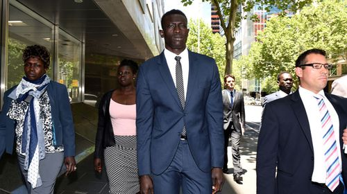 Majak Daw rape denial 'a script', court hears