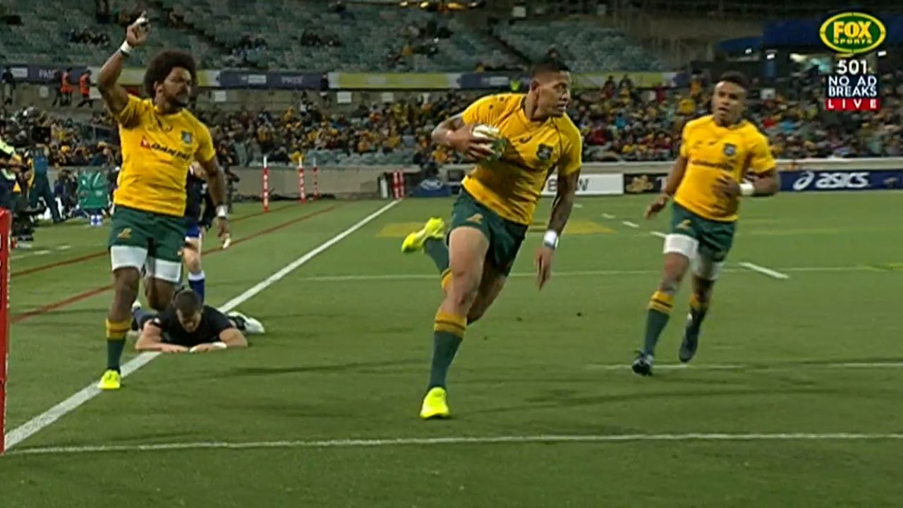 Wallabies hit back