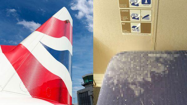 British Airways Vomit