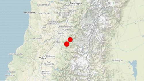 Central Chile rocked by 6.4-magnitude quake