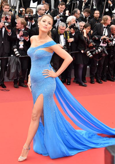 """Blake Lively caused a stir with her glam Cannes maternity looks, but says the best compliment came courtesy of her daughter James.""""She's very sweet. She says, 'Wow!'"""" Lively shared. """"She's just very, very complimentary. And that means more to me than any compliment."""""""