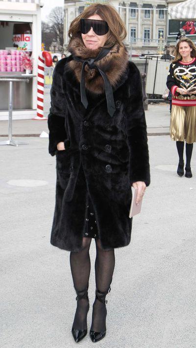 Carine Roitfeld at Valentino