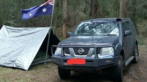 "Harry and his Nissan pathfinder often ""go bush""."