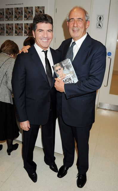 Author Tom Bower at the launch of his Simon Cowell biography.